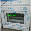Plastové okno VEKA 86,5x53,5 s1-bílé - třída A