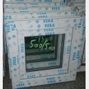 Plastové okno 50x50 bílé zvolene-provedeni leve 50/50os1b