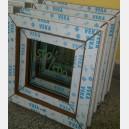 Plastové okno 50x50 zlatý dub zvolene-provedeni leve 50/50os1zd