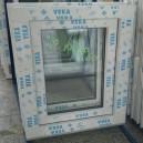 Plastové okno 50x60 bílé zvolene-provedeni leve 50/60os1b