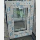 Plastové okno 50x70 bílé zvolene-provedeni leve 50/70os1b