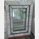 Plastové okno 50x70 zlatý dub zvolene-provedeni leve 50/70os1zd