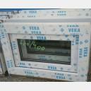 Plastové okno 60x40 bílé 60/40s1b