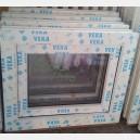 Plastové okno 60x50 bílé zvolene-provedeni leve 60/50os1b