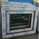 Plastové okno 60x50 zlatý dub zvolene-provedeni leve 60/50os1zd