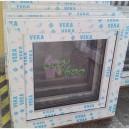 Plastové okno 60x60 bílé zvolene-provedeni leve 60/60os1b