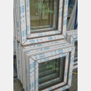 Plastové okno 60x60 zlatý dub zvolene-provedeni leve 60/60os1zd