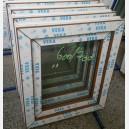 Plastové okno 60x70 zlatý dub zvolene-provedeni leve 60/70os1zd