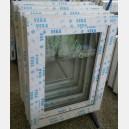 Plastové okno 60x80 bílé zvolene-provedeni leve 60/80os1b