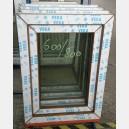 Plastové okno 60x80 zlatý dub zvolene-provedeni leve 60/80os1zd