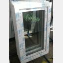 Plastové okno 60x100 bílé zvolene-provedeni leve 60/100os1b