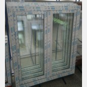 Plastové okno 100x120 bílé 100/120os2b
