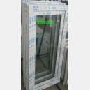 Plastové okno 60x130 bílé zvolene-provedeni leve 60/130os1b