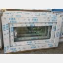 Plastové okno 70x40 bílé 70/40s1b