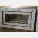 Plastové okno 70x40 zlatý dub 70/40s1zd
