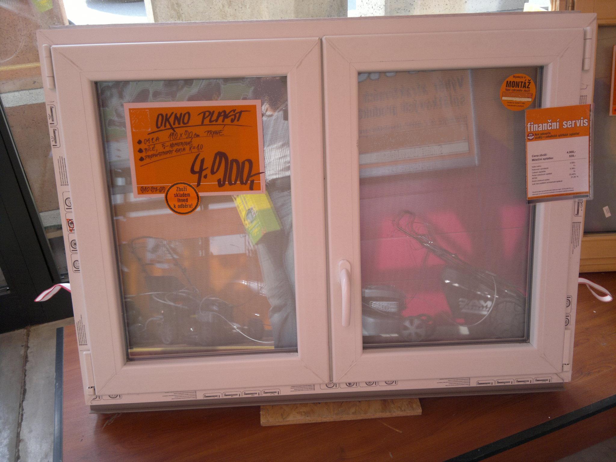 okno v BAU kvalitě 1