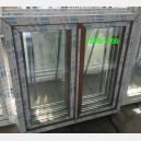 Plastové okno 120x140 zlatý dub