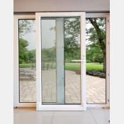 Francouzské okno posuvné 200x210 Bílé