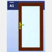 Vchodové dveře 100x210 A1