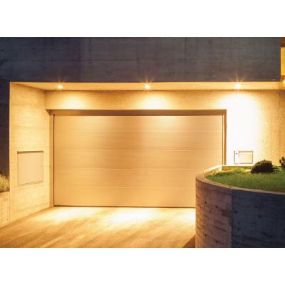 Sekční garážová vrata 2,5 x 2,15 bílá