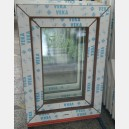 Plastové okno 50x70 zlatý dub