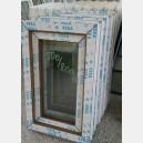 Plastové okno 50x80 zlatý dub