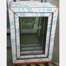 Plastové okno 60x80 zlatý dub