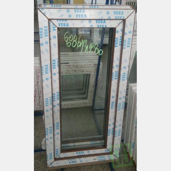 Topnotch Plastové okno 60x120 zlatý dub - stavimednes.cz JD34