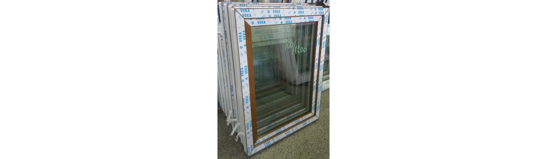 Hotová plastová okna jednokřídlá skladem