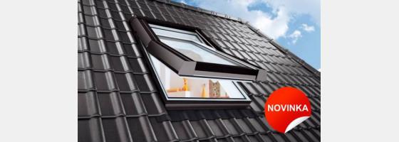 Plastová střešní okna Premium Termo